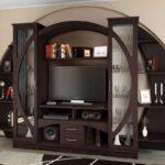 мебель венге круглая стенка