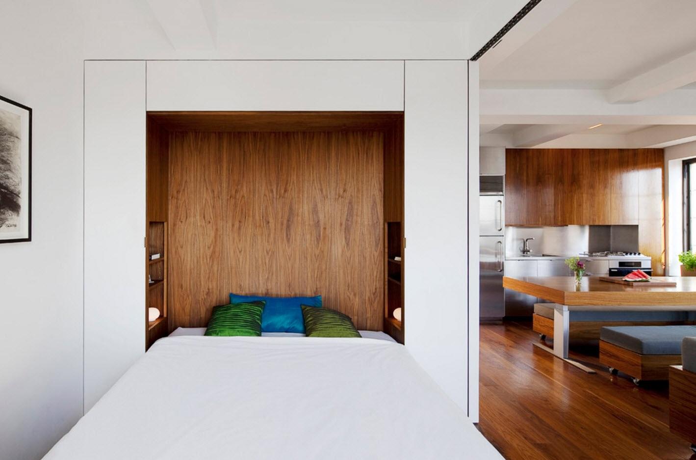 достоинства шкафа-кровати