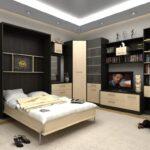 шкаф-кровать в гостиной