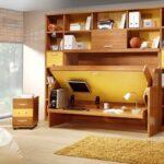 горизонтальная кровать-шкаф
