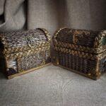 шкатулка плетеная сундуки