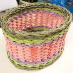 шкатулка плетеная корзина