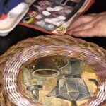 изготовление шкатулки из трубочек