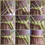 процесс плетения шкатулки пошагово