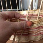 плетение стенок шкатулки