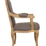 стул деревянный боком