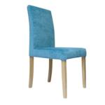 стул деревянный голубой