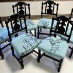 стул деревянный черный