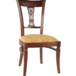 стул деревянный мягкий с резной спинкой