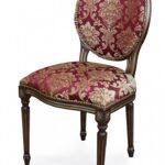 стул деревянный с вышивкой