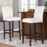 стул деревянный высокий белый
