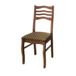 стул деревянный в клетку