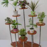 варианты разных подставок для растений