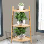 тройная подставка для комнатных растений