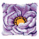 цветочная ковровая вышивка