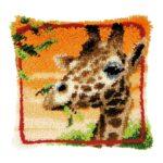 вышивка Жираф