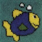 вышивка Рыбка