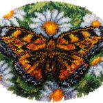 как вышить бабочку