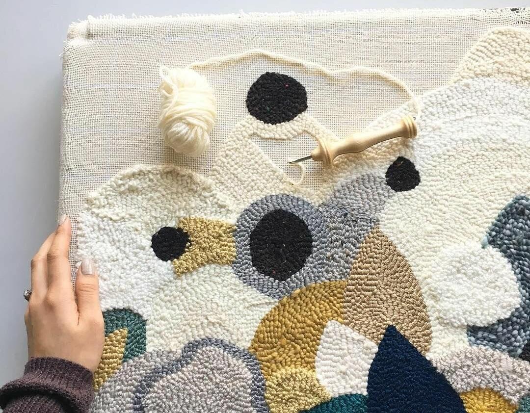 минусы ковровой вышивки