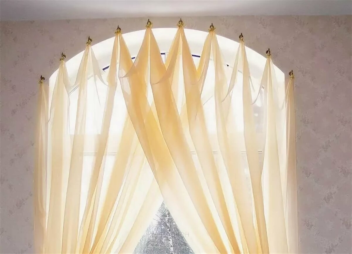 вариант оформления окна