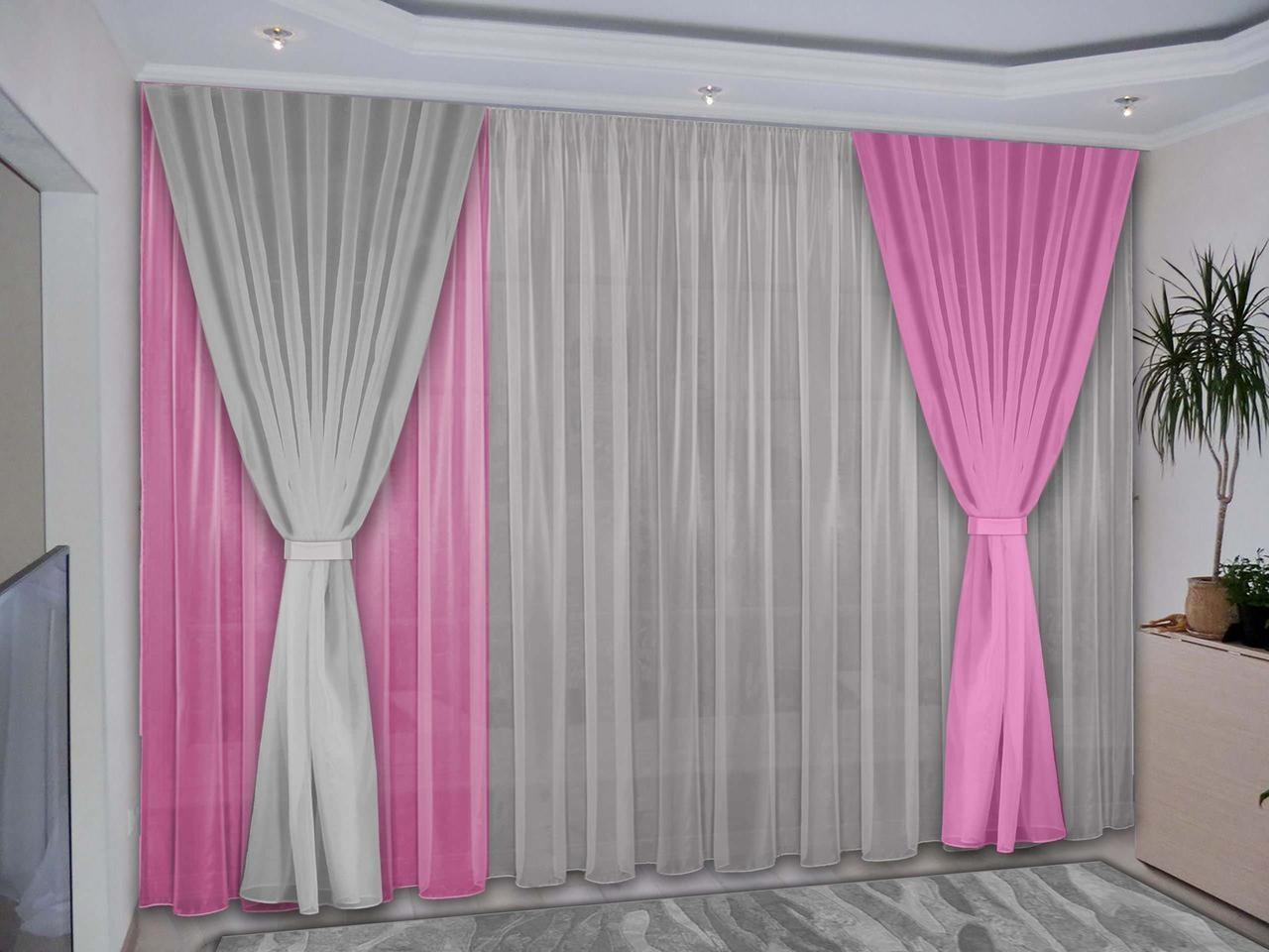 выбор длинны шторы