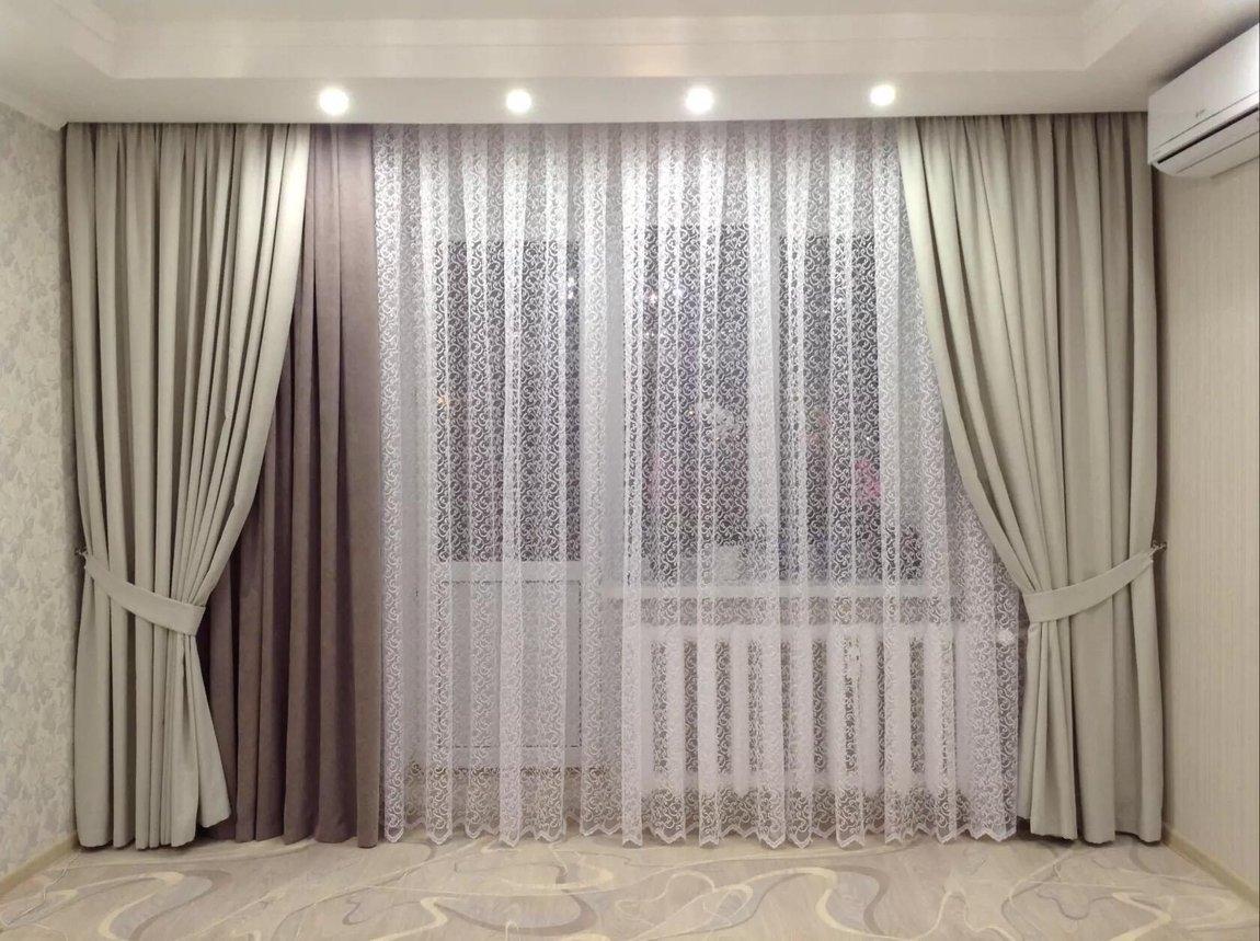 размещение шторы