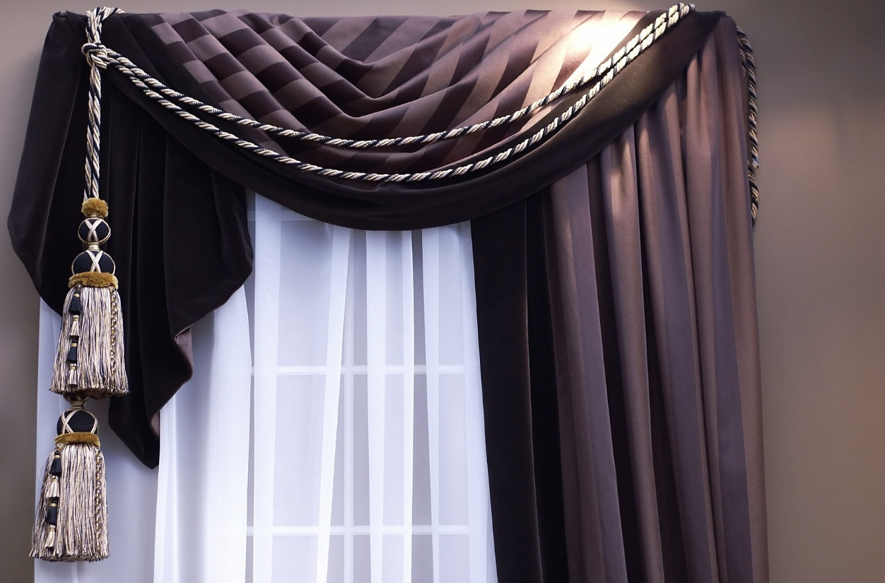 драпировка штор