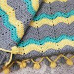идеи для вязания пледа
