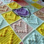 одеяло для малыша Сердечки