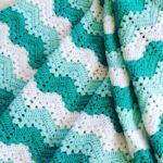 одеяло Бирюзовые волны