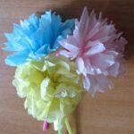 шикарные хризантемы из бумаги