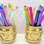 золотая карандашница