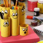 карандашница смешные рожицы