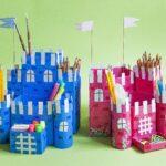 карандашница-замок
