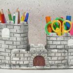 необычный замок-карандашница
