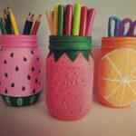 карандашница-фрукты