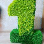 зеленая цифра