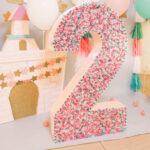 объемные цифры для дня рождения