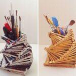 мастер-класс по изготовлению подставки для карандашей