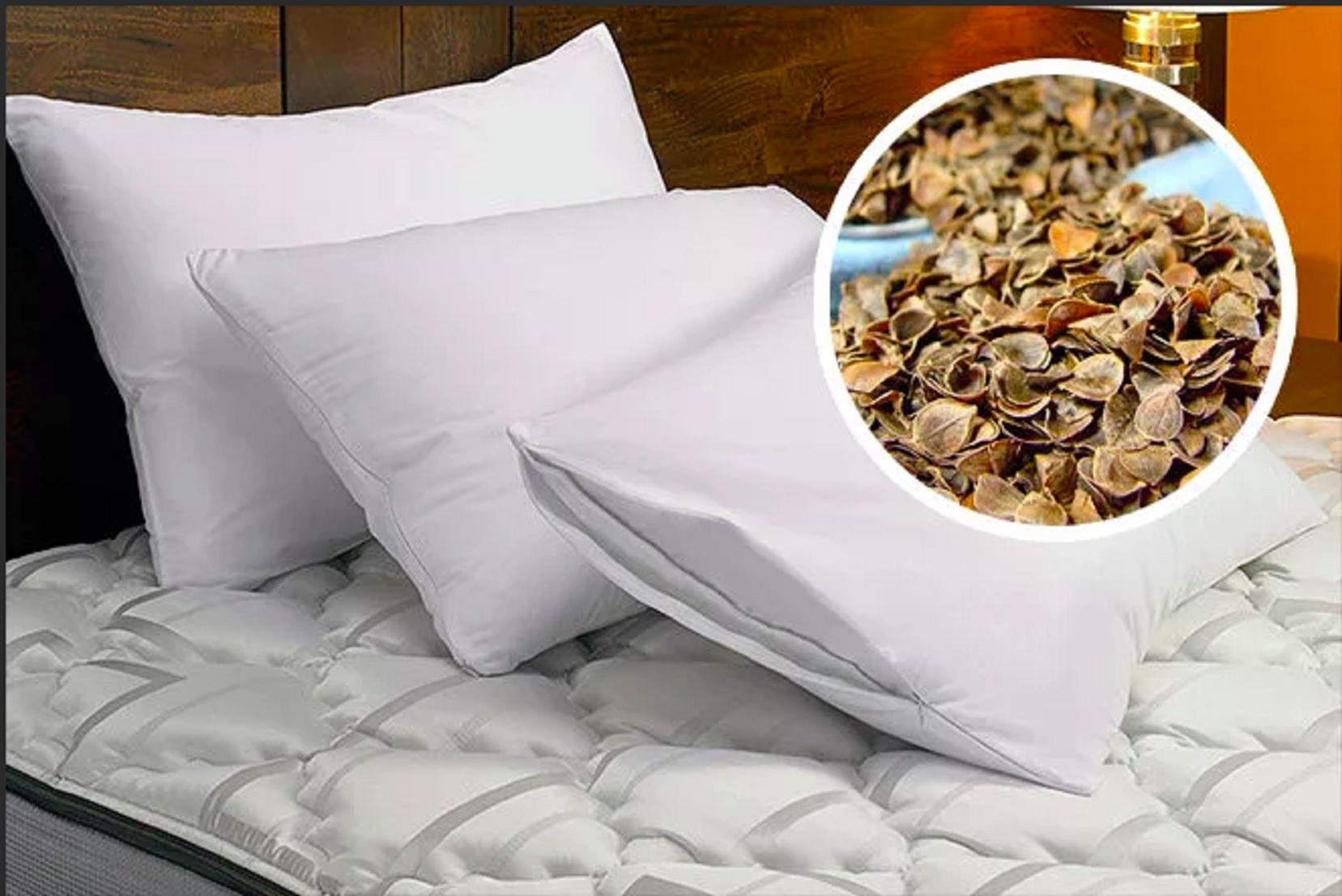 уход за подушкой из гречихи