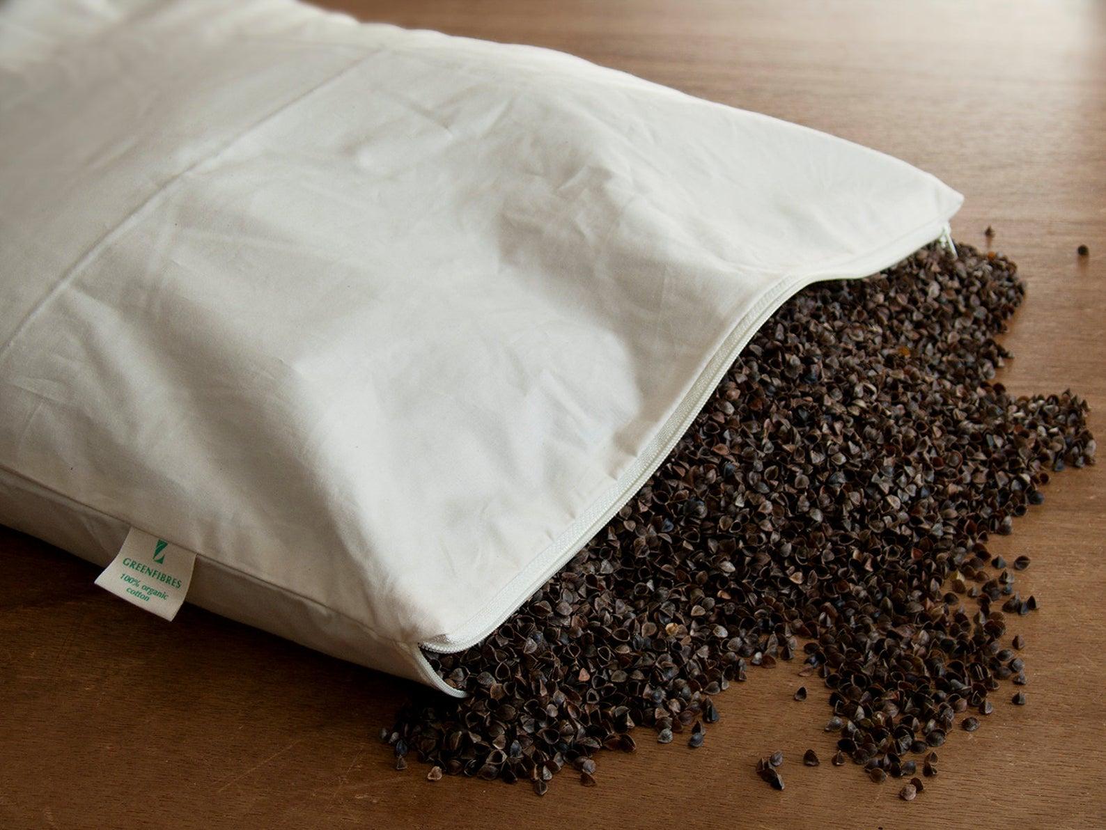 преимущества и недостатки подушки с гречихой