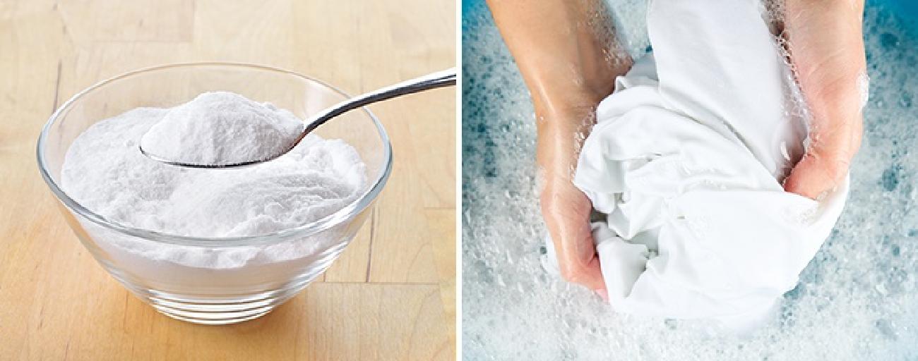 как отбелить тюль солью