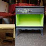 перекраска небольшого шкафа