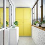 как покрасить шкаф на балконе