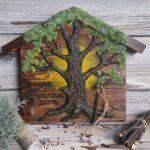 ключница-дерево