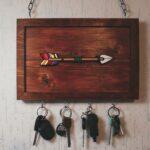 как сделать вешалку для ключей