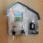 ключница-домик