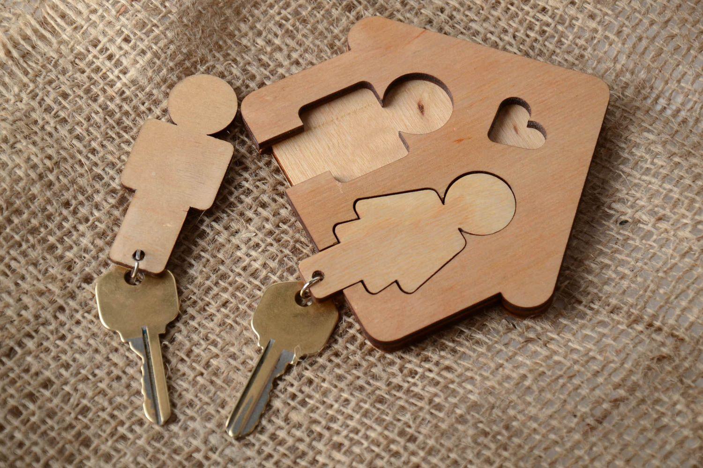 ключница для двоих
