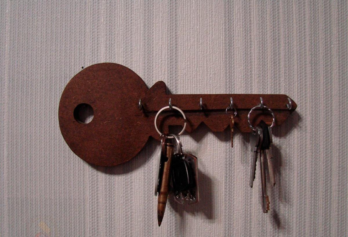 из чего сделать ключницу