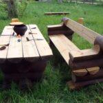 как сделать мебель для сада
